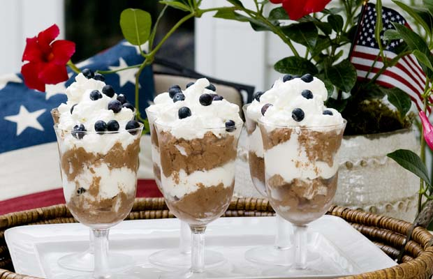 Espresso Dark Chocolate Mousse Trifles