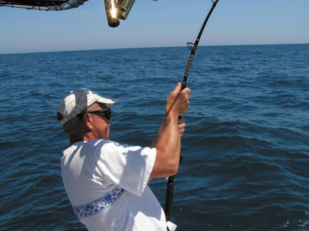 Fishing offshore Wilmington NC